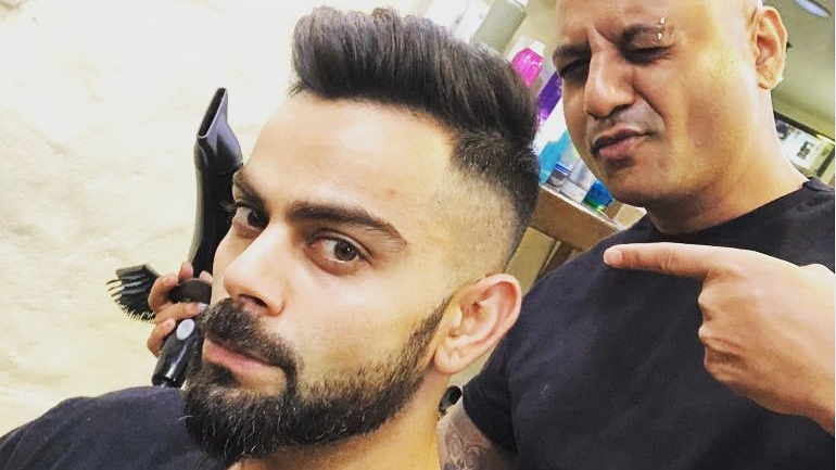 Virat Kohli reveals new hairdo ahead of IPL 2018