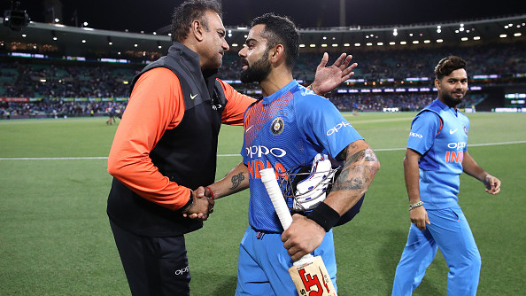 AUS v IND 2018-19: Kohli is a 'perfect gentleman' and among the 'most pleasant person' off the field, says Shastri