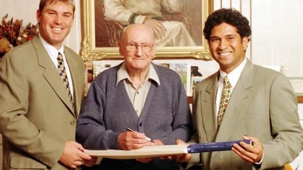 Sachin Tendulkar recalls first meeting with Sir Don Bradman; says