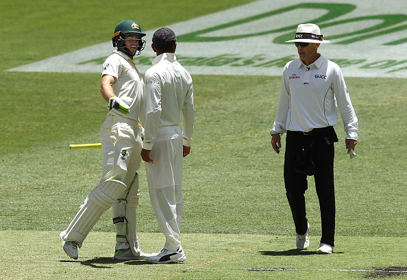 Kohli and Paine engaged in a tension flared verbal duel on Day 4 in Perth | Getty