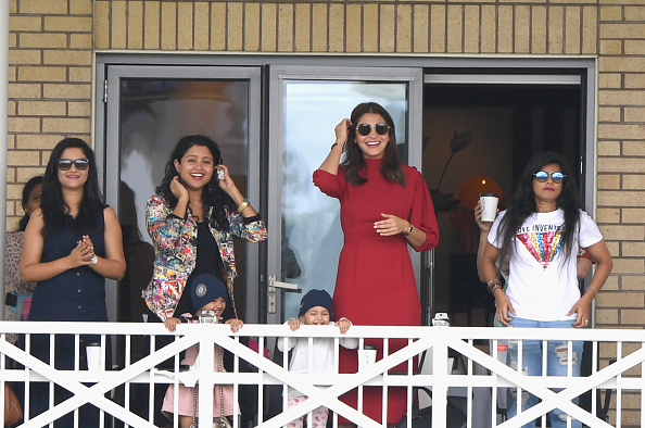 WAGs after India's win in third Test | GETTY