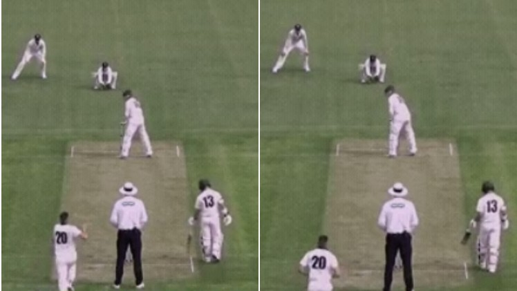 WATCH - George Bailey's complicated batting stance in Sheffield Shield match leaves fans bewildered