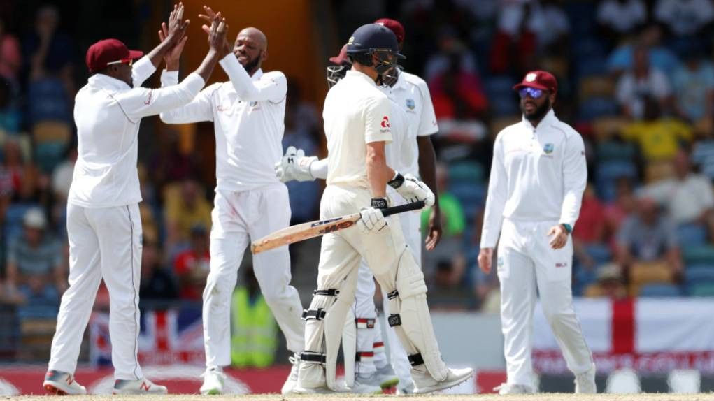 WI vs ENG 2019 : First Test - Statistical Highlights