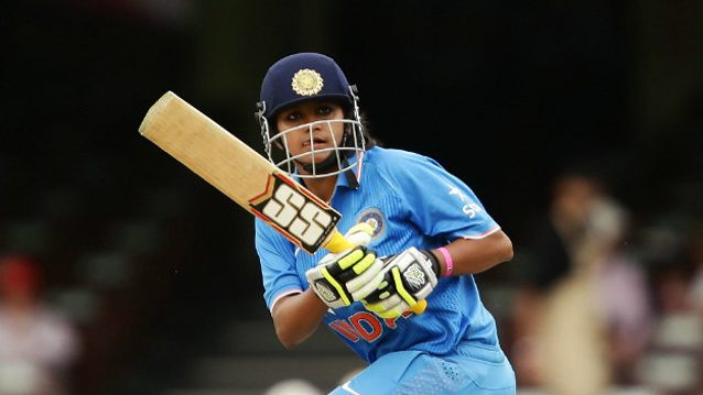 Vanitha VR scripts India Blue's thumping win over India Red