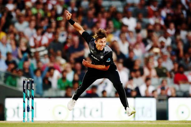 Trent Boult has taken 59 international wickets in 2019 so far. (photo - getty)