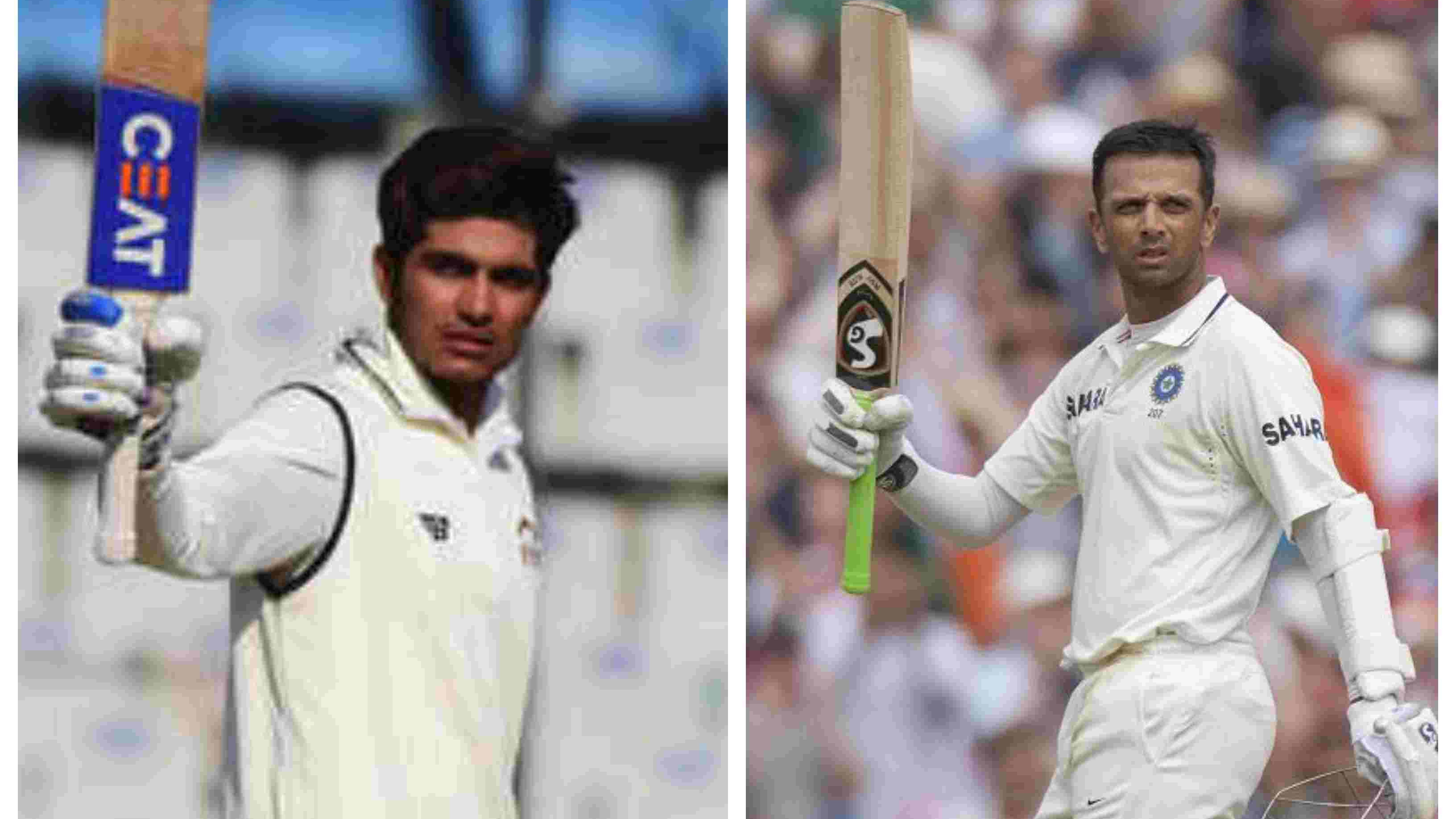 Ranji Trophy: Shubman Gill matches Rahul Dravid's unique feat in first-class cricket
