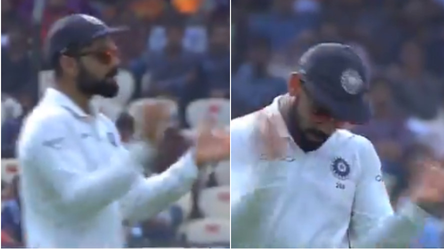 IND v WI 2018: Watch- Virat Kohli's gestures kept the energy of Hyderabad crowd high