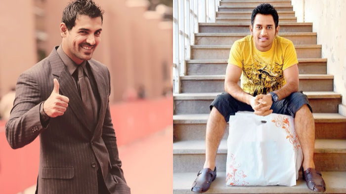 John Abraham in awe of MS Dhoni's fitness, shares an old story about his friend