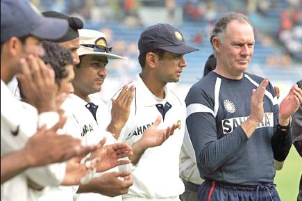 Greg Chappell was abrasive, claims VVS Laxman in his book