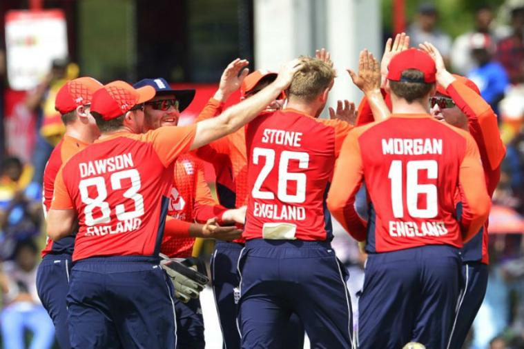 England celebrates a 31-run win over Sri Lanka | Getty Images