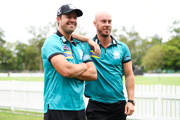 AB de Villiers and Chris Lynn   GETTY
