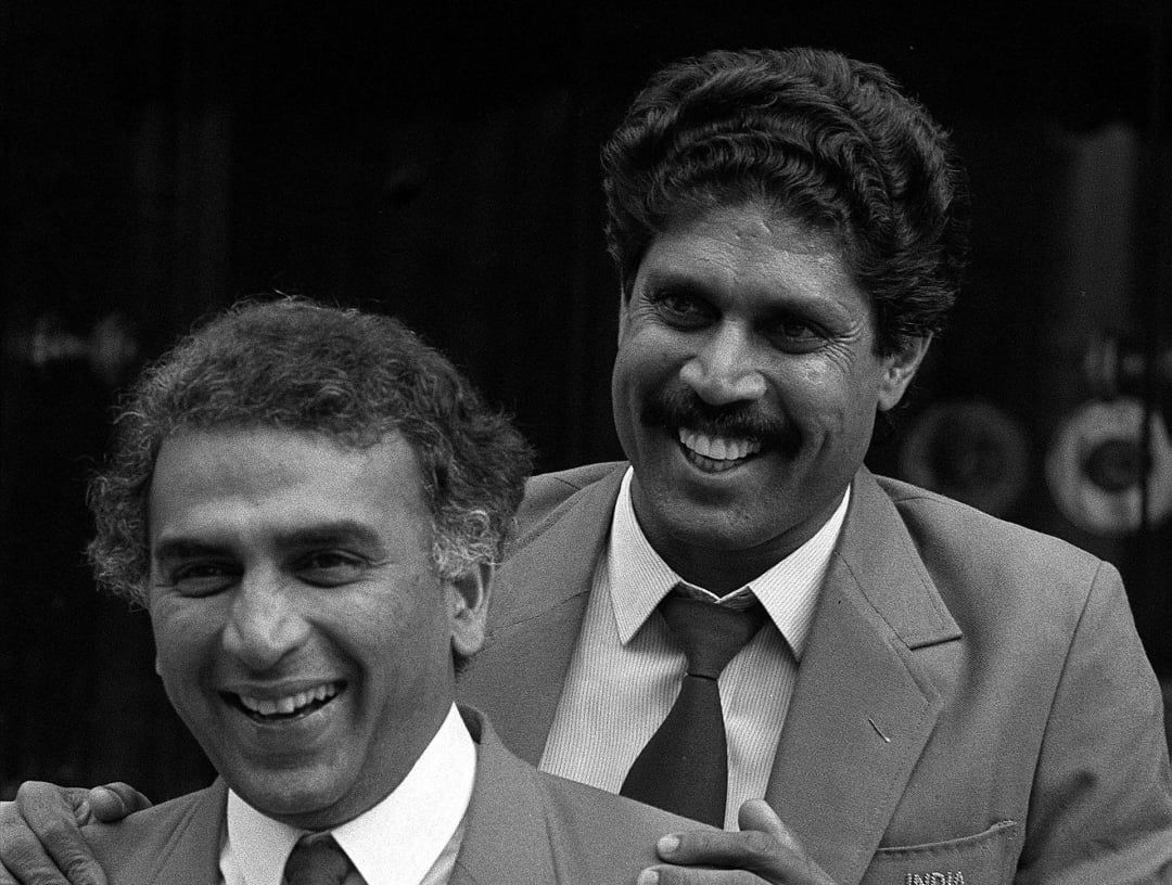 Gavaskar and Kapil Dev both were part of India's 1983 World Cup glory | AFP