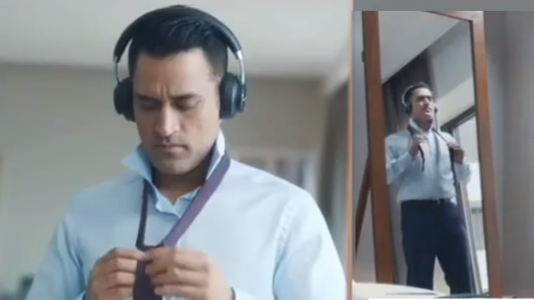 WATCH: MS Dhoni reveals who is the real boss in his new TVC