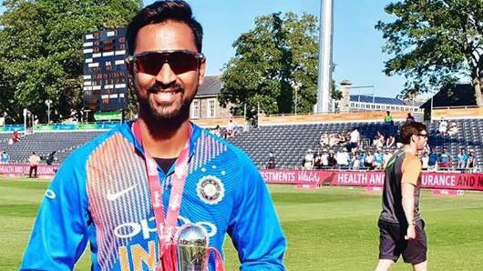 भारतीय टीम की T20I टीम में चुना जाना क्रुणाल पांड्या के लिए सपने के सच होने से कम नहीं हैं