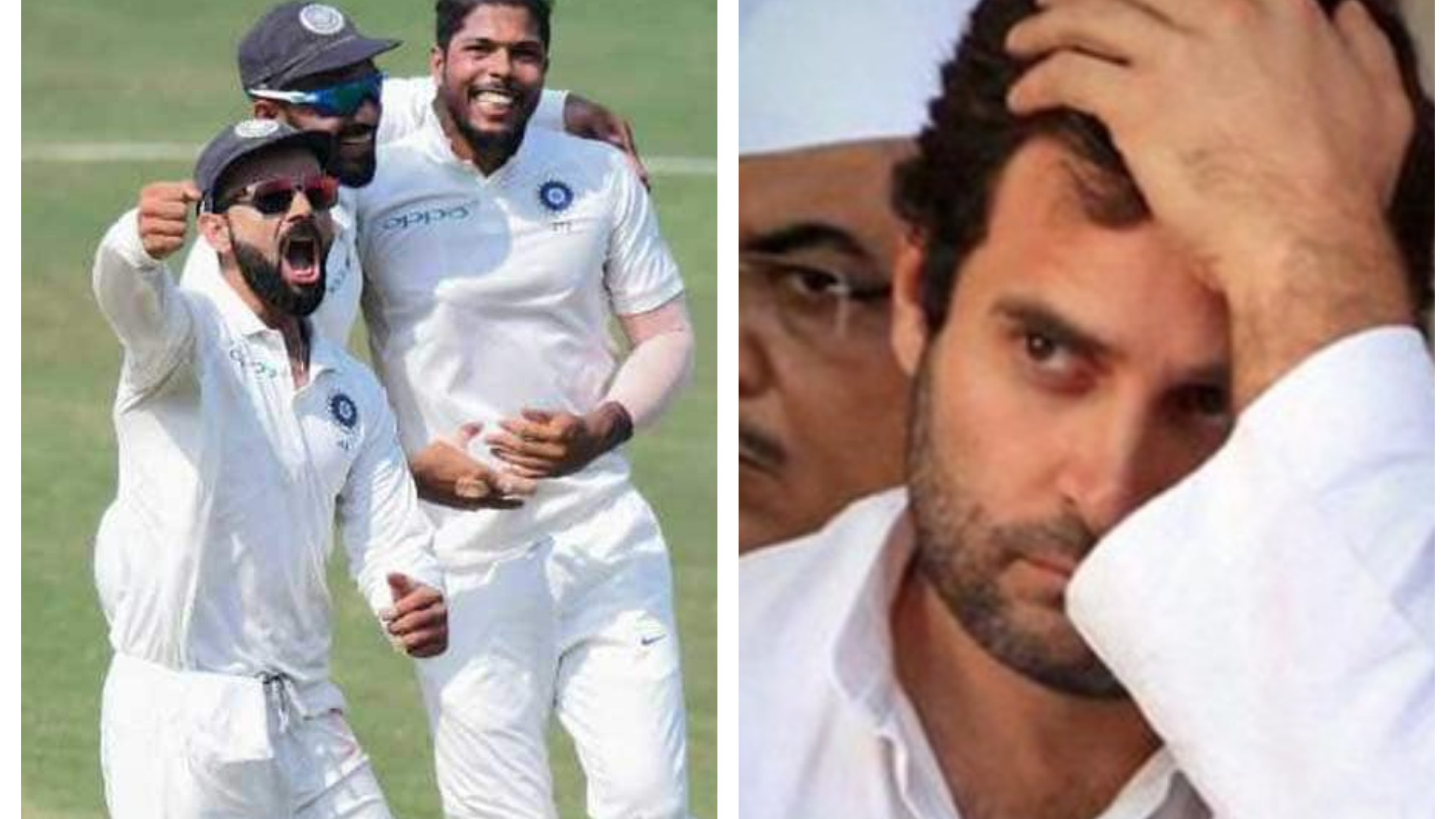 Congress party gets roasted for their congratulatory tweet to Team India