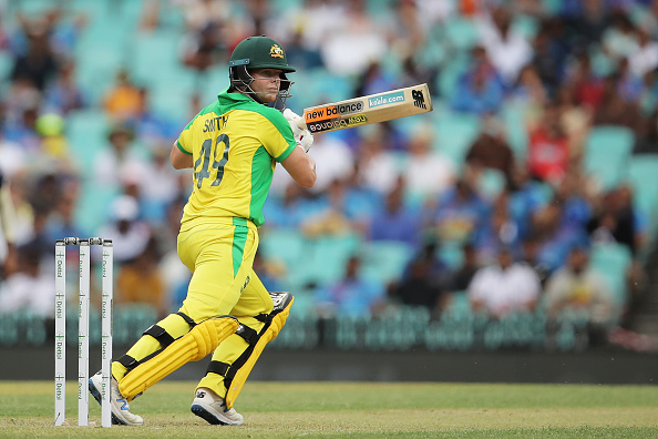 Steve Smith has made two centuries in ongoing ODI series, both coming off 62 balls | Getty