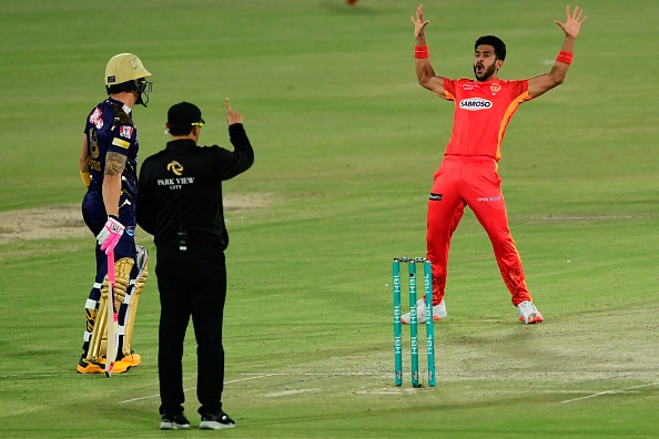 Hasan Ali had tested COVID-19 positive a day before the PSL 2021 postponed | Getty Images