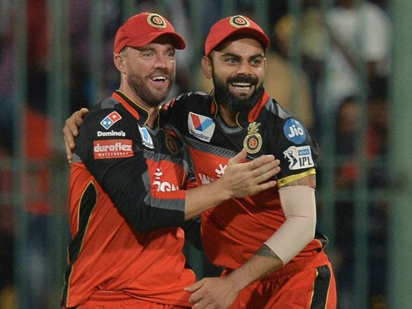 AB de Villiers and Virat Kohli for RCB | IANS