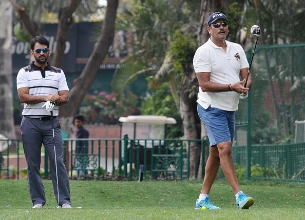 Ravi Shastri and MS Dhoni | GETTY