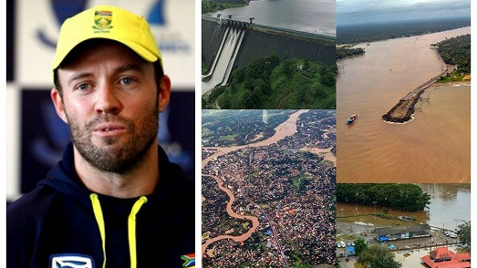 AB de Villiers sends his prayers for the Kerala flood victims