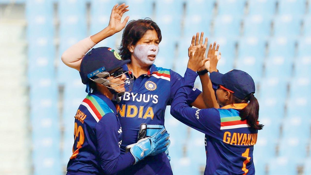 Jhulan Goswami scalped four wickets in the second ODI | BCCI