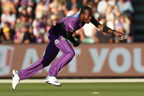 Jofra is currently in the ongoing Big Bash League for the Hobart Hurricanes | Getty Images