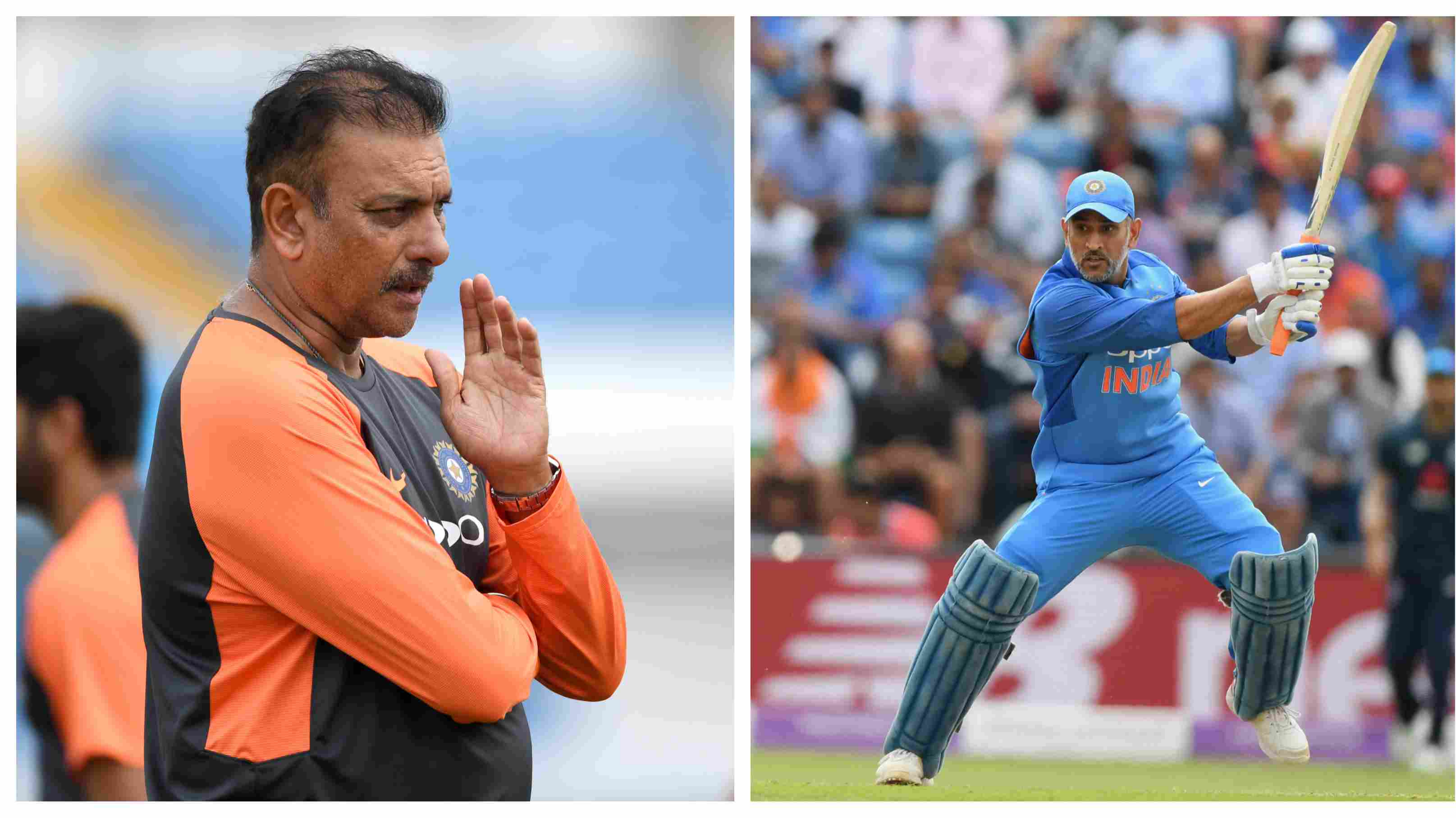 ENG v IND 2018: Ravi Shastri clears the air regarding MS Dhoni's retirement