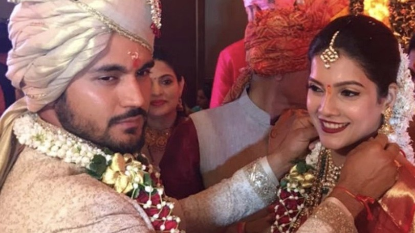In Pics: Manish Pandey ties knot with actress Ashrita Shetty in Mumbai