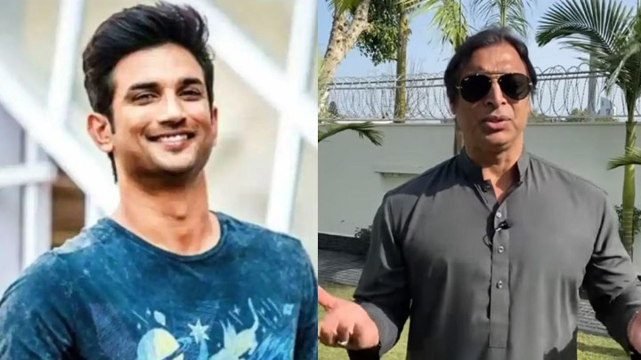 Shoaib Akhtar regrets not sharing life experiences with Sushant Singh Rajput when he met him
