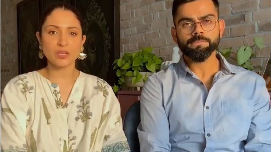 Anushka Sharma and Virat Kohli | Twitter