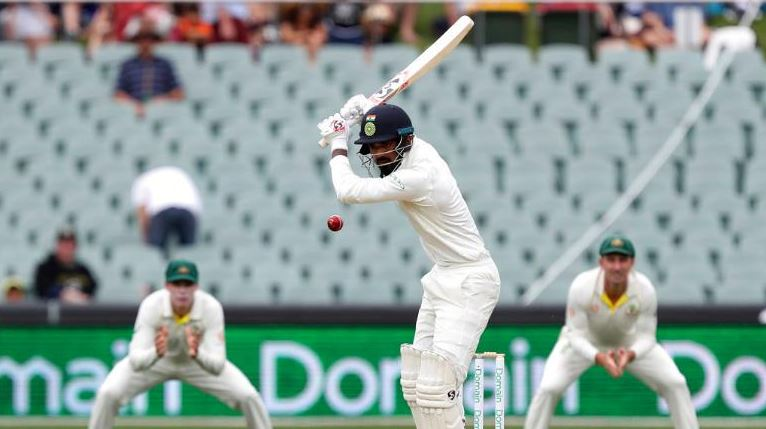 It is KL Rahul's defensive technique that seems to have evade him | Getty