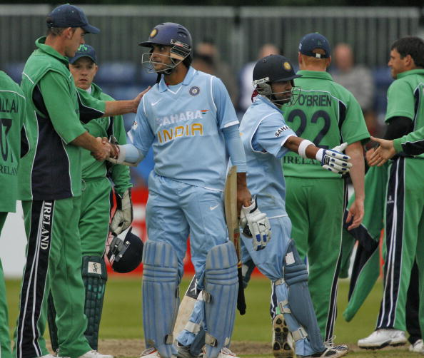 India last played a one-on-one ODI against Ireland in Ireland in 2007 |  PETER MUHLY-AFP-Getty Images