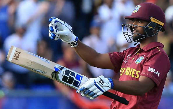 Nicholas Pooran slammed his maiden ODI and World Cup ton (118) as well | Getty