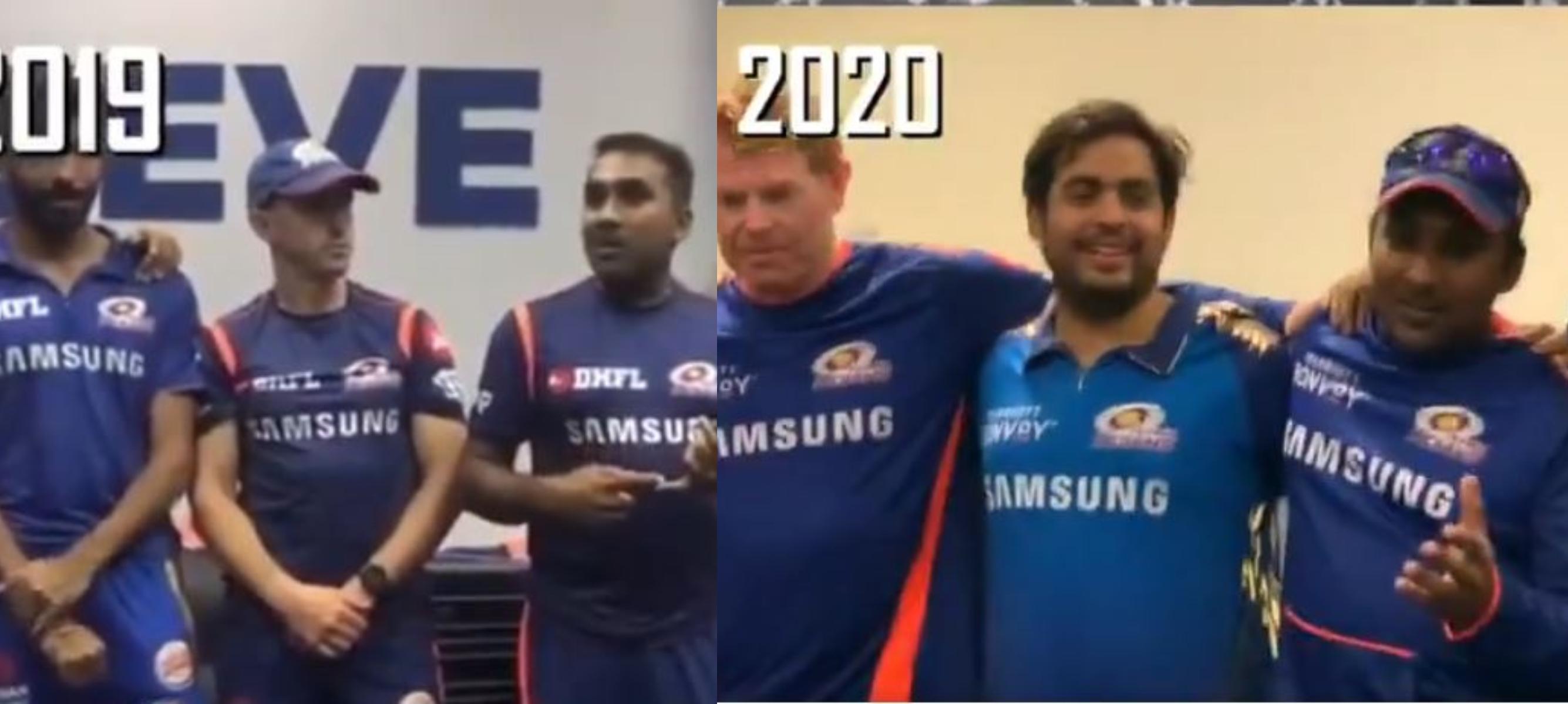 MI won their third IPL title with Mahela Jayawardena as their head coach | MI Twitter
