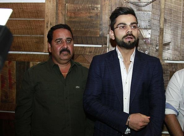 Raj Kumar Sharma and Virat Kohli | GETTY