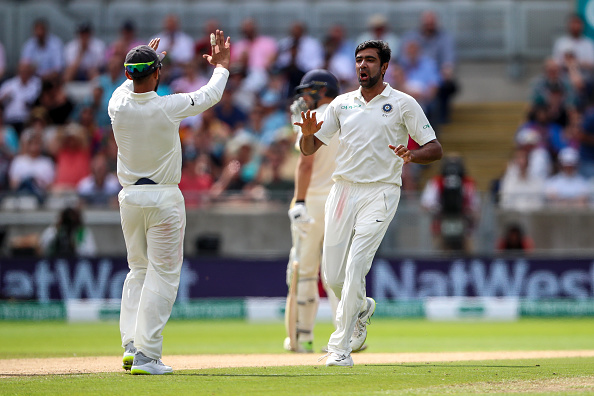Ashwin picked up seven wickets in the first Test against England | Getty
