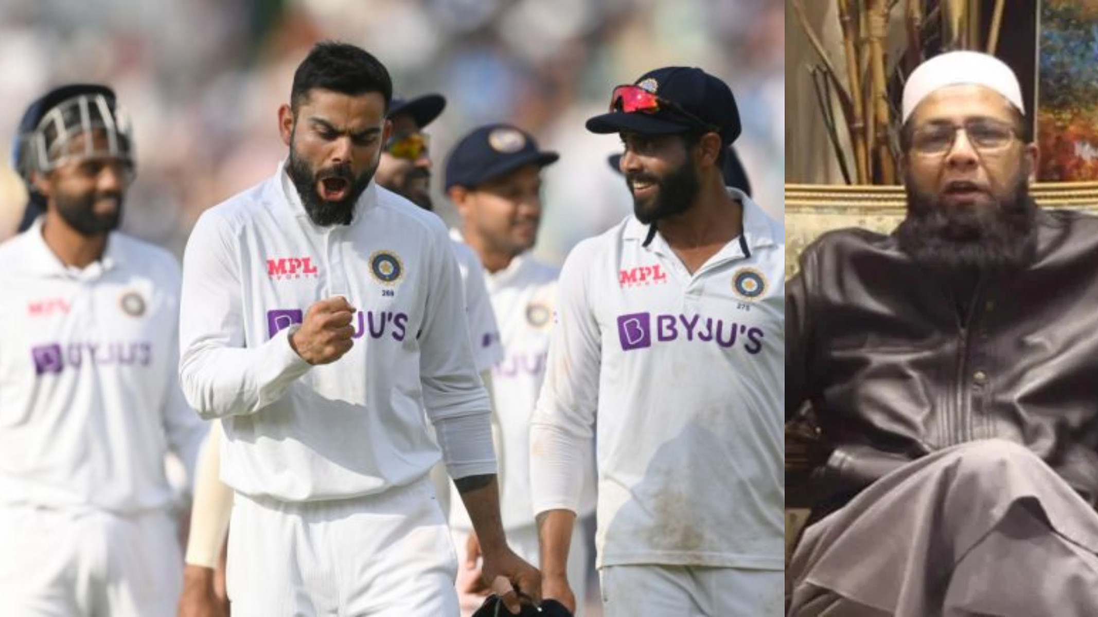 ENG v IND 2021: Inzamam says credit to Indian team for the comeback; praises Kohli's leadership