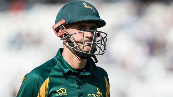 Alex Hales apologises to Nottinghamshire teammates post ban for disciplinary reasons