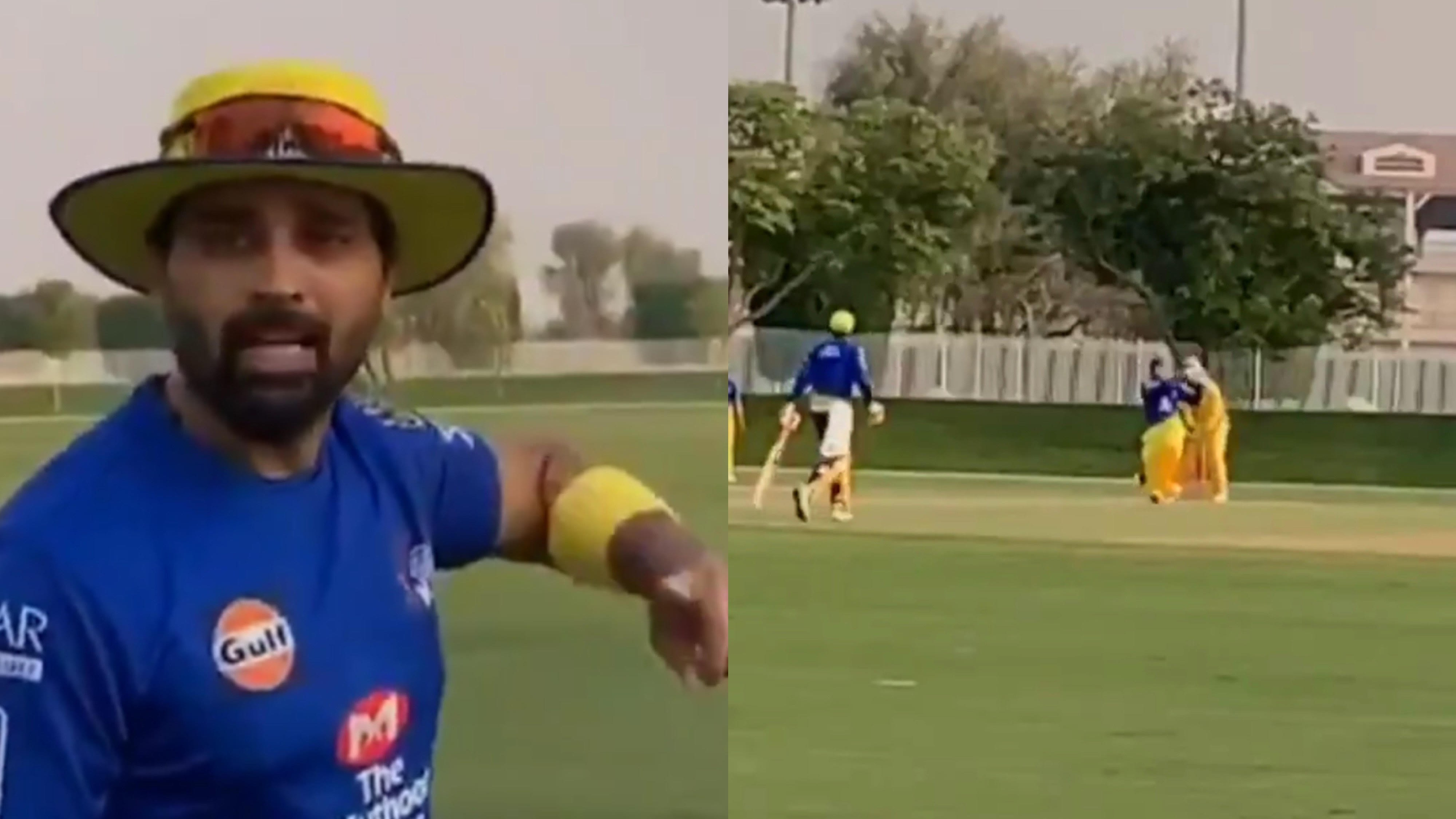 IPL 2020: WATCH - Murali Vijay in awe as MS Dhoni smashes ball out of the park