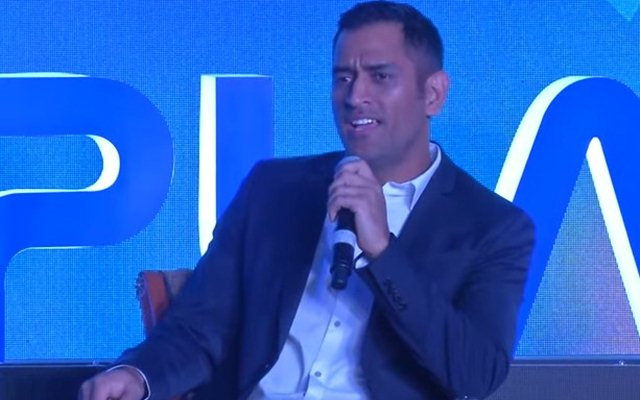 MS Dhoni wants every kid to pick a sport and play it seriously