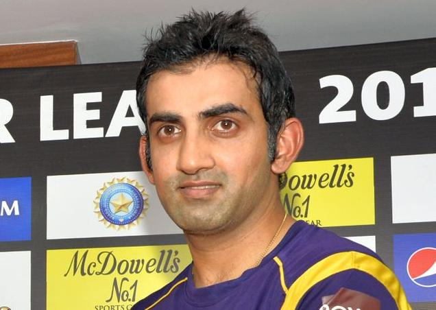 Gambhir led Kolkata to two IPL titles. (AFP)
