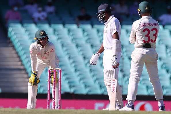 Tim Paine kept having a verbal duel with Ashwin and interrupted him   Getty