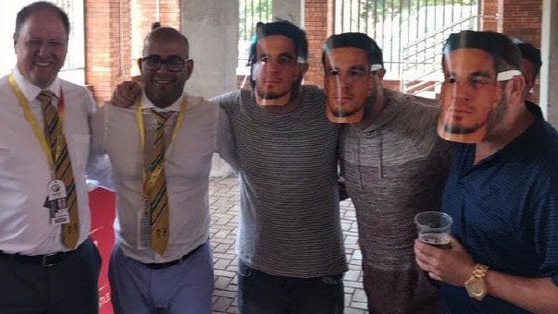 SA v AUS 2018: Cricket South Africa issues an apology over Sonny Bill Williams masks