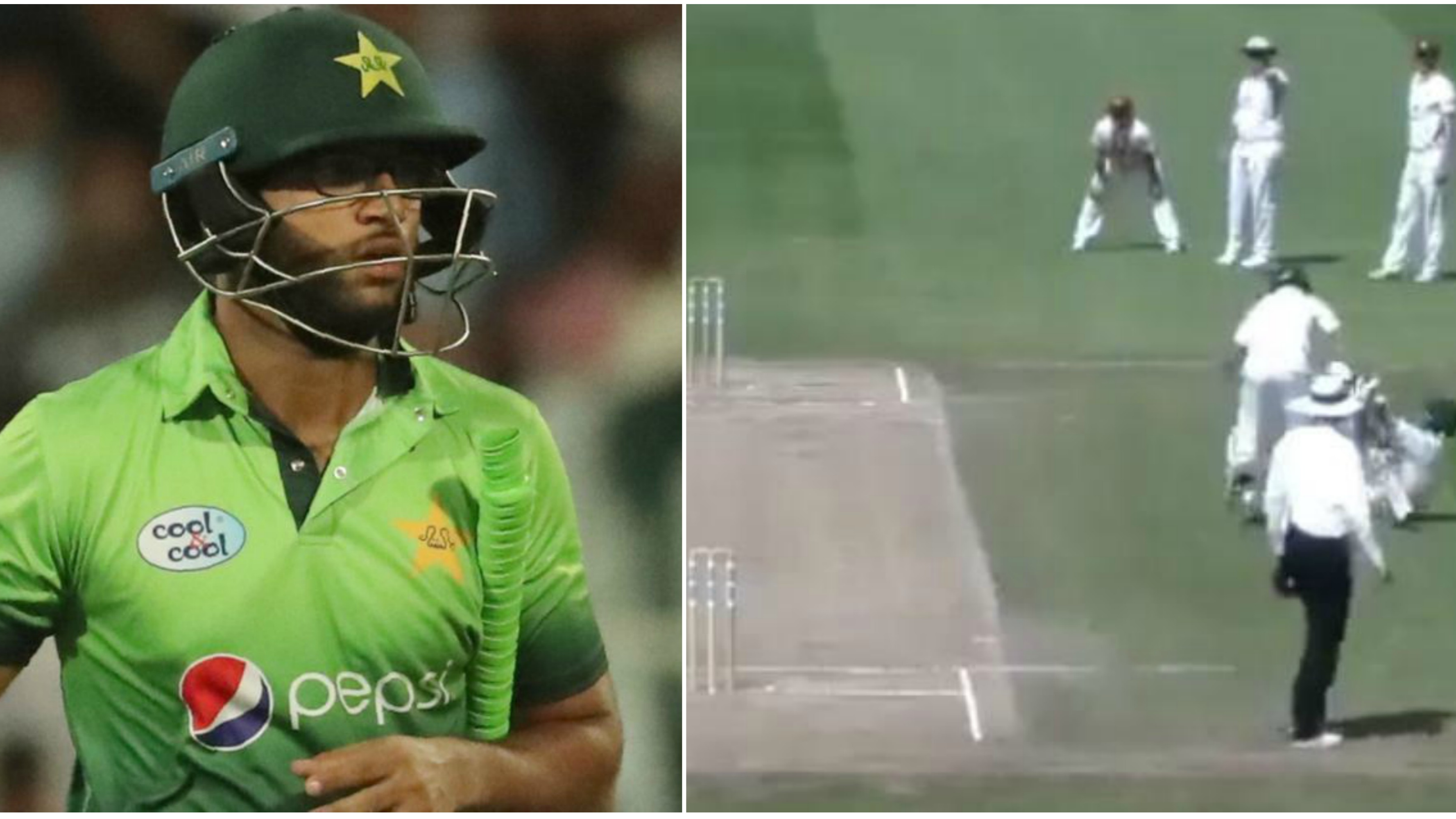 Watch: Inzamam-ul-Haq's nephew getting his partner run-out in a practice game