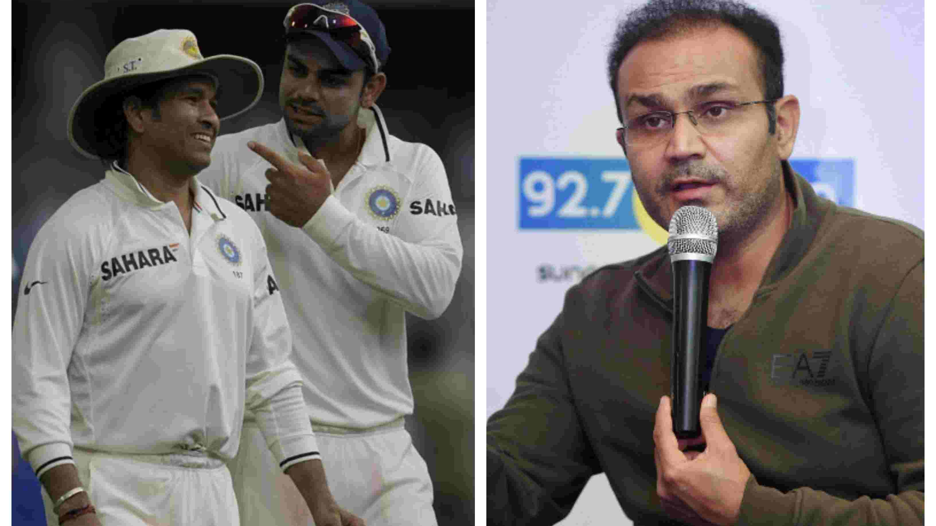 ENG v IND 2018: It's unfair to compare Virat Kohli with Sachin Tendulkar as yet, reckons Virender Sehwag