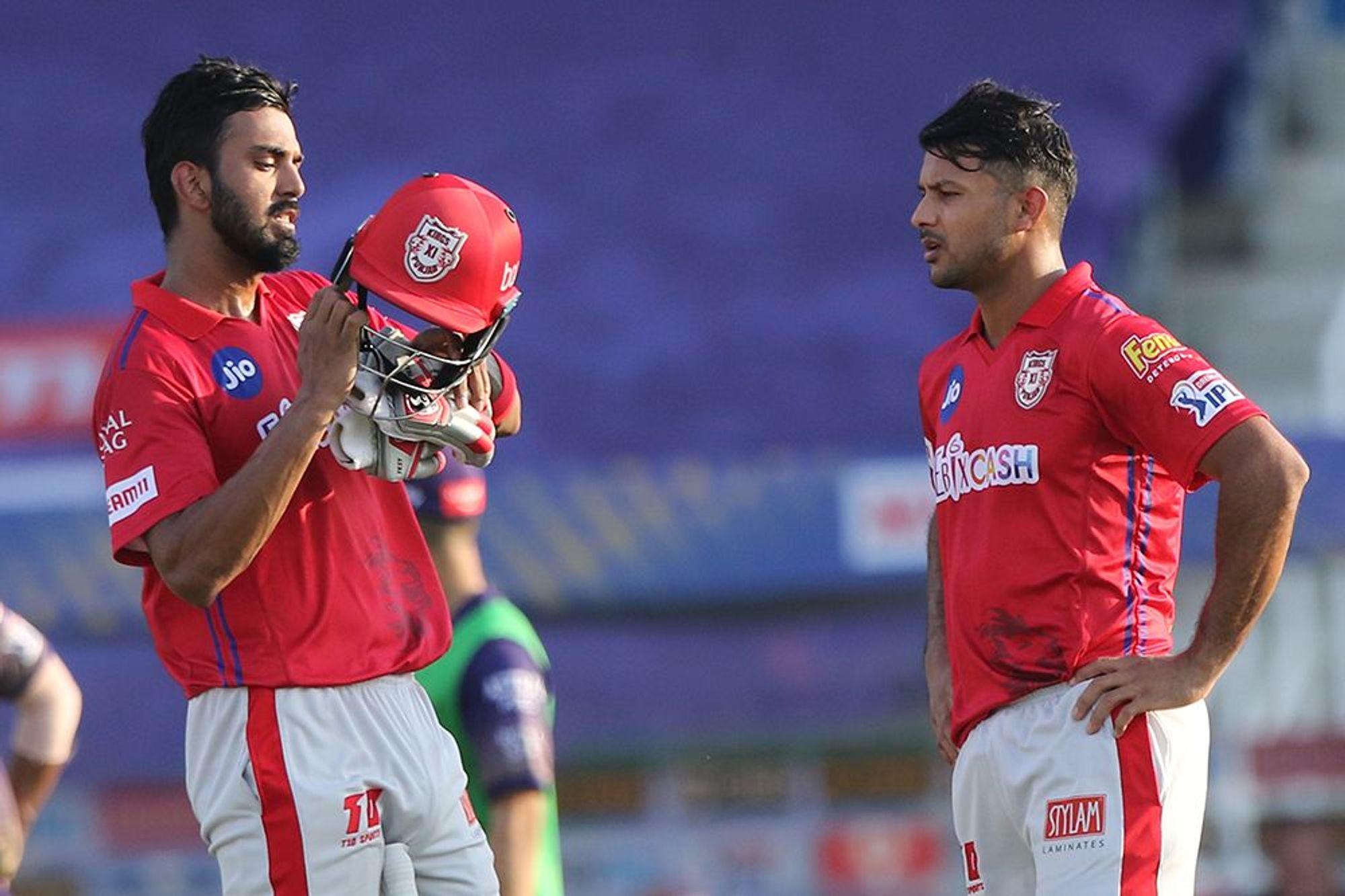 KL Rahul (670) and Mayank Agarwal (424) scored more than 1000 runs between them in this IPL. (Photo - BCCI / IPL)