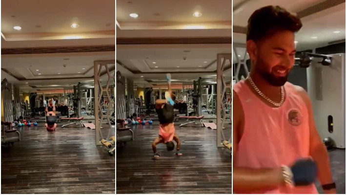 IND v ENG 2021: WATCH - Rishabh Pant gets into match mode in his own style