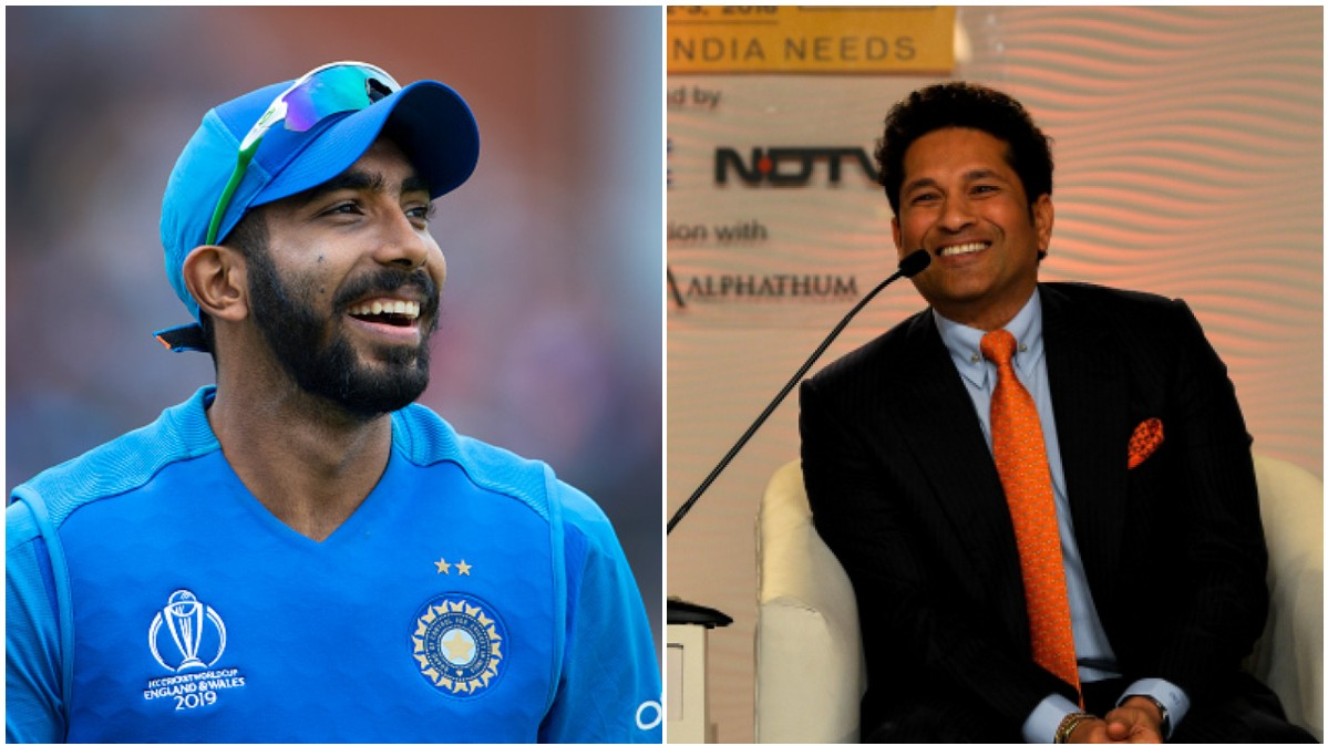 Sachin Tendulkar wishes Jasprit Bumrah on his 26th birthday; gives him a new nickname