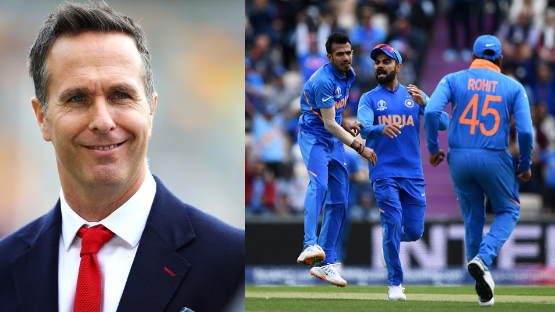 CWC 2019: Indian team fans asks 'panauti' Michael Vaughan of England to stay away