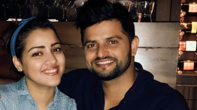 Suresh Raina gets an adorable birthday wish from his wife Priyanka